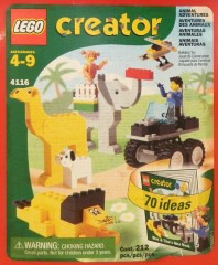 Lego 4116 Animal Adventures Bucket