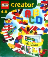 Lego 4119 Regular and Transparent Bricks