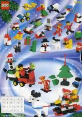 Lego 4124 Advent Calendar