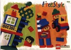 Lego 4132 Freestyle Building Set, 3+