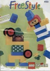 Lego 4133 Freestyle Bucket, 3+