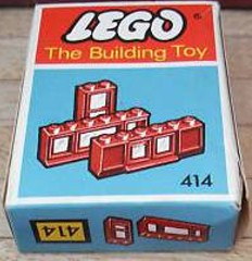 Lego 414 Windows Parts Pack, Red (The Building Toy)