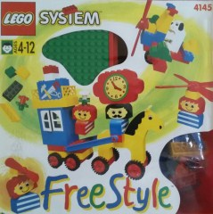 Lego 4145 Freestyle Playcase (M), 4+