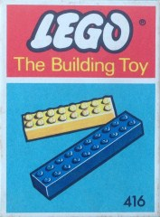 Lego 416 4 Sixteens 2 Twenties (The Building Toy)