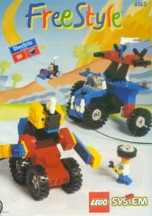Lego 4163 Electric Freestyle Set, 6+