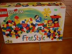 Lego 4169 Freestyle Gift Item, 3+