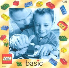 Lego 4216 Basic Building Set, 3+