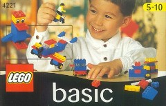 Lego 4221 Basic Building Set, 5+