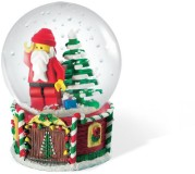 Lego 4287 Santa Minifigure Snow Globe