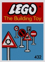 Lego 432 Road Signs (The Building Toy)