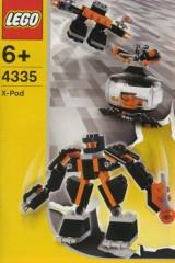 Lego 4335 Black Robot Pod