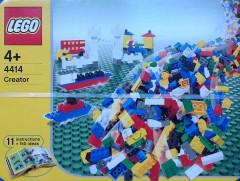 Lego 4414 Creator Half Tub Blue