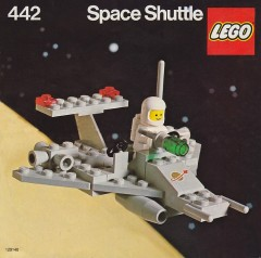 Lego 442 Space Shuttle
