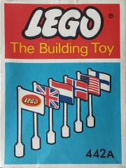 Lego 442A International Flags (The Building Toy)