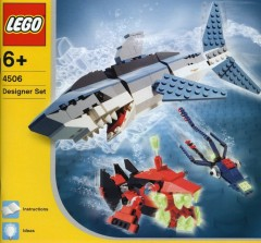 Lego 4506 Deep Sea Predators