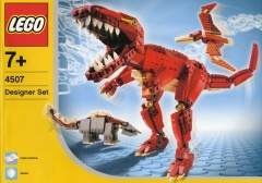 LEGO Dinosaurs:  unearthing the history