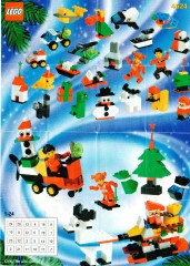 Lego 4524 Holiday Calendar