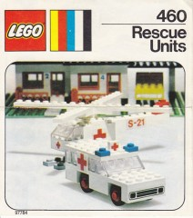 Lego 460 Rescue Units