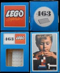 Lego 463 4 x 8 Plates, White