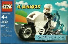 Lego 4651 Police Motorcycle
