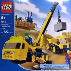 Lego 4668 Outrigger Construction Crane