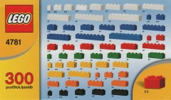Lego 4781 Bulk Set - 300 bricks