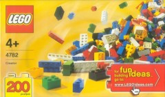 Lego 4782 Bulk Set - 200 bricks