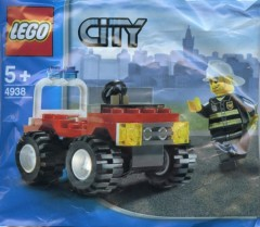 Lego 4938 Fire 4x4