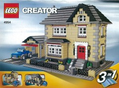 Lego 4954 Model Town House
