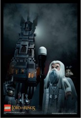 Lego 5002517  Tower of Orthanc Poster