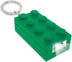 Lego 5002804 2x4 Brick Key Light (Green)
