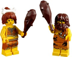 Get two free cavemen at shop.LEGO.com