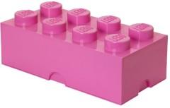 Lego 5005027 8 stud Bright Purple Storage Brick