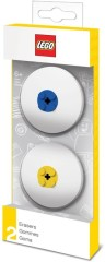 Lego 5005108 LEGO Erasers (Blue Yellow)