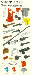 Lego 5048 Town Accessories