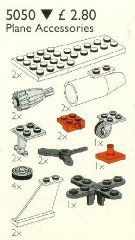 Lego 5050 Aeroplane Accessories