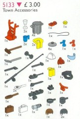 Lego 5133 Town Accessories