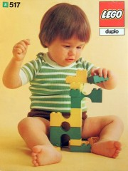Lego 517 Bricks and half bricks and arches