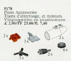 Lego 5178 Plane Accessories
