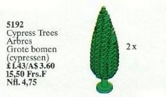 Lego 5192 Cypress Trees