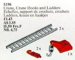 Lego 5196 Crane, Crane Hooks and Ladders