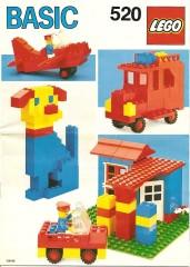 Lego 520 Basic Building Set, 5+