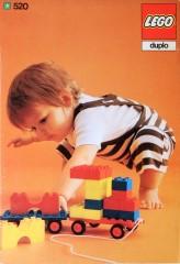 Lego 520 Bricks and half bricks and two tolleys