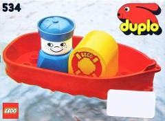 Lego 534 Bath-Toy Boat