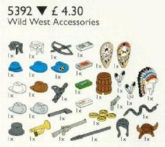 Lego 5392 Western Accessories