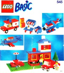 Lego 545 Basic Building Set, 5+