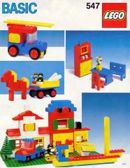 Lego 547 Basic Building Set, 5+