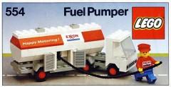 Lego 554 Exxon Fuel Tanker