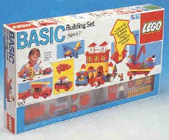 Lego 557 Basic Building Set, 5+