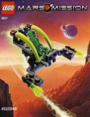 Lego 5617 Alien Jet